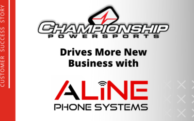 Championship Powersports Drives More New Business with Aline